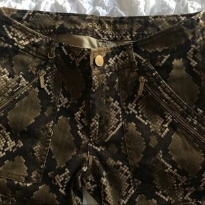 Michael Kors Jeans - Michael Kors snake print skinny jeans